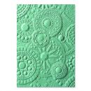 663206 -Sizzix 3-D Textured Impressions Embossing Folder - Mosaic Gems by Courtney Chilson